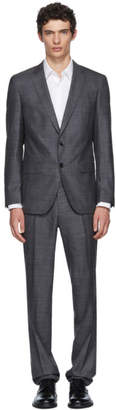 BOSS Grey Genius Slim Suit