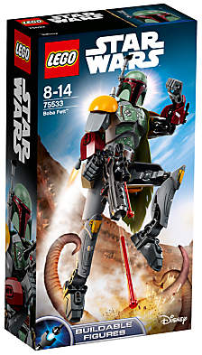 Lego Star Wars 75533 Boba Fett Buildable Figure