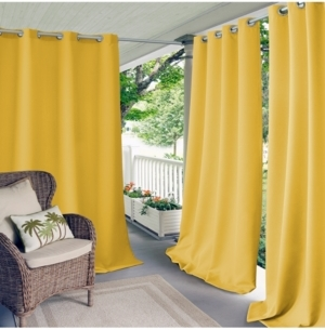 Elrene Elrene Connor Indoor/Outdoor Grommet Panel Collection, Water-Repellent and 50+ UV Protection