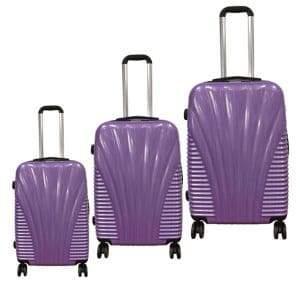 Mcbrine Expandable Three-Piece Luggage Set