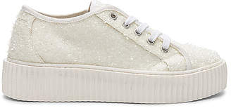 MM6 MAISON MARGIELA Curly Low Top Sneakers