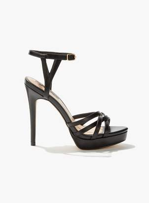 168d59a1f Miss Selfridge SKYE Black Platform Sandals