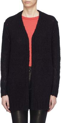 Rag & Bone 'Arizona' Merino wool open knit long cardigan