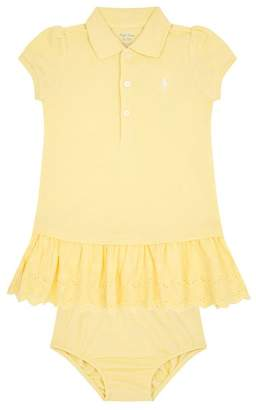 Polo Ralph Lauren Logo Dress with Bloomers