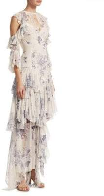 Elizabeth and James Ceria Tiered Floral Dress