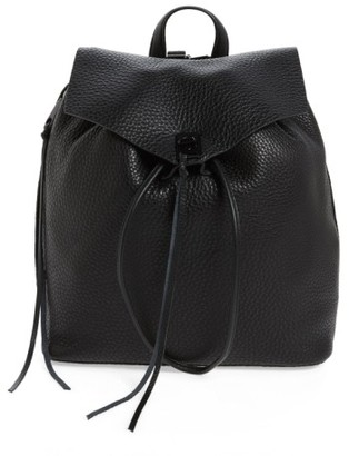 Rebecca Minkoff Darren Leather Backpack - Black $325 thestylecure.com