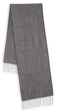 Black & Brown Black Brown Striped Cashmere Scarf