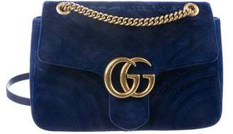 c9a7a7b2ccc1 Gucci Medium GG Marmont Matelassé Shoulder Bag