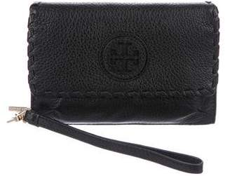Tory Burch Grained Leather Wallet