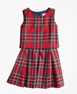 Brooks Brothers Holiday Tartan Dress
