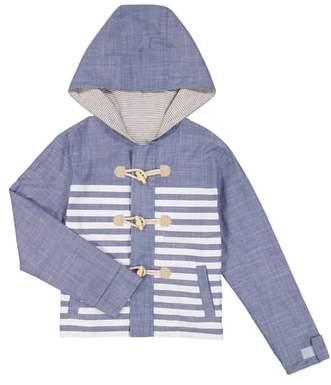 Water Resistant Reversible Hooded Jacket