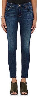J Brand Women's Mid-Rise Capri Jeans-BLUE $198 thestylecure.com
