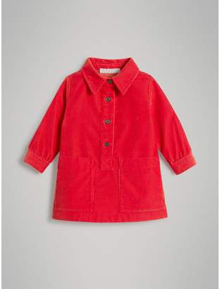 Burberry Corduroy Shirt Dress , Size: 18M