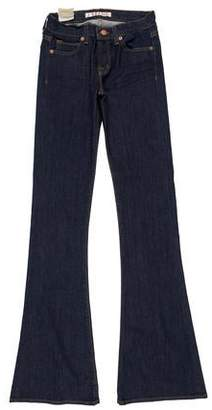 J Brand Low-Rise Flared Pants w/ Tags