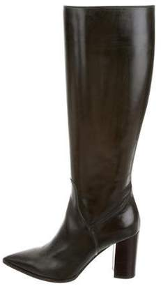 Fratelli Rossetti Leather Knee-High Boots w/ Tags