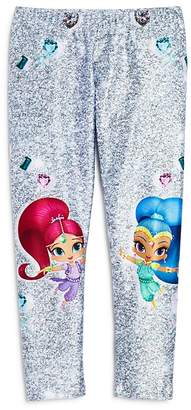 Nickelodeon Terez x Girls' Shimmer and Shine© Glitter Leggings, Little Kid - 100% Exclusive