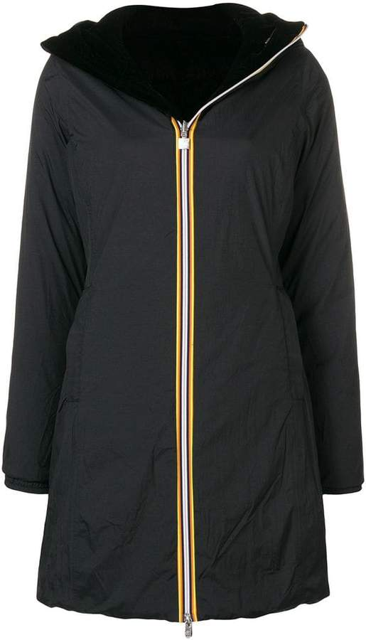 K-Way hooded raincoat