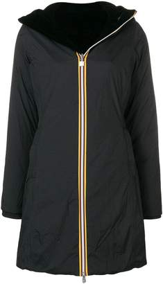 K-Way hooded raincoat