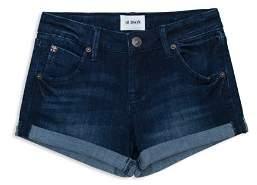 Hudson Girls' Cuffed Denim Shorts - Big Kid