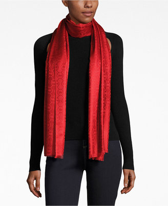 MICHAEL Michael Kors Jet Set Logo Jacquard Wrap, Only at Macy's $60 thestylecure.com