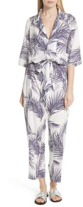PARADISED Apres Beach Print Jumpsuit