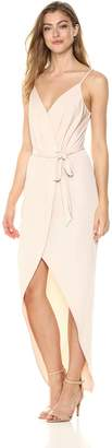 BCBGeneration Women's HIGH Low WRAP Dress