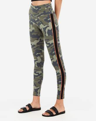5578654a28e96 Express Stripe High Waisted Sexy Stretch Slimming Leggings
