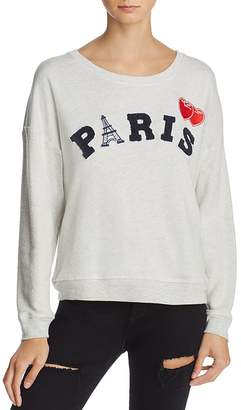 Rails Kelli Paris Appliqué Sweatshirt