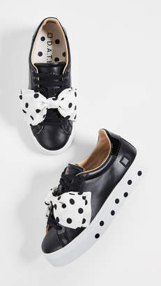 D.A.T.E Nouvelle Pouf Pois Sneakers