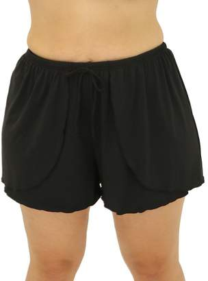 Fit 4 U Fit 4 Ur Hips Drawstring Shorts - Plus