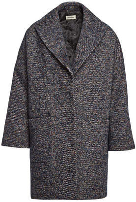 Zadig & Voltaire Mika Fantaisie Coat with Wool, Mohair and Alpaca