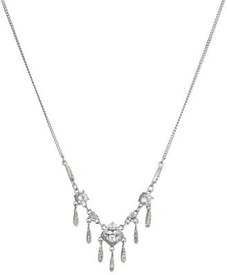 """Carolee Small Frontal Necklace, 16"""""""