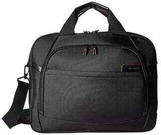 Samsonite PRO 4 DLX 15.6 Laptop Two Gusset Brief Briefcase Bags