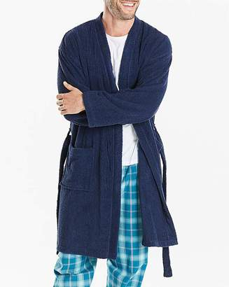 Jacamo Navy Towelling Dressing Gown 9bbbc811b
