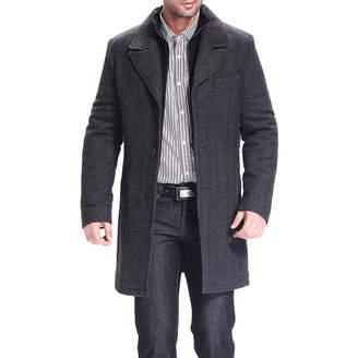 Blend of America BGSD Men's Derek Herringbone Wool Walking Coat