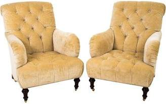Tufted Club Chairs