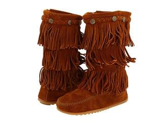 Minnetonka Kids 3-Layer Fringe Boot (Toddler/Little Kid/Big Kid)