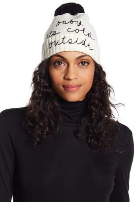 21448e68bd7a9 ... Kate Spade Baby It s Cold Outside Beanie