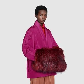Gucci Faux fur handwarmer