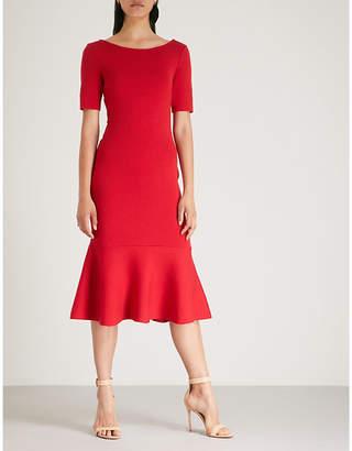 Oscar de la Renta Knotted wool dress