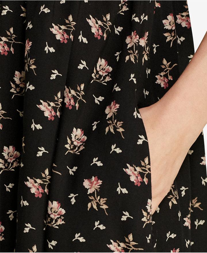 Denim & Supply Ralph Lauren Floral-Print Button-Front Dress 4