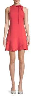 Julia Jordan Sleeveless Bow Neck A-Line Dress