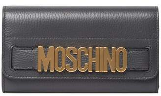 Moschino Continental Leather Wallet