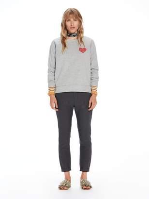 Scotch & Soda Neoprene Artwork Sweatshirt