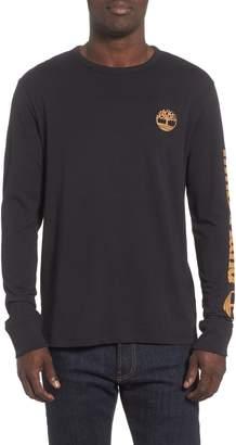 Timberland Long Sleeve Logo T-Shirt