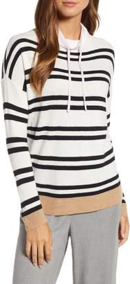 Lou & Grey Margo Shimmer Stripe Sweater