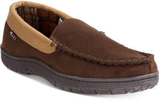 32 Degrees Men's Venetian Faux Suede Moccasin Slippers $36 thestylecure.com