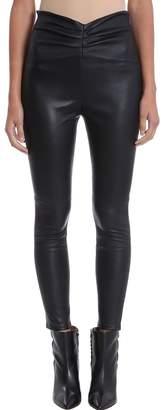 IRO Black Leather Leggings