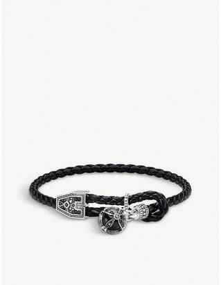 Thomas Sabo Kingdom of dreams orb leather bracelet