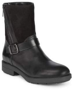 Aquatalia Buckle Leather Boots